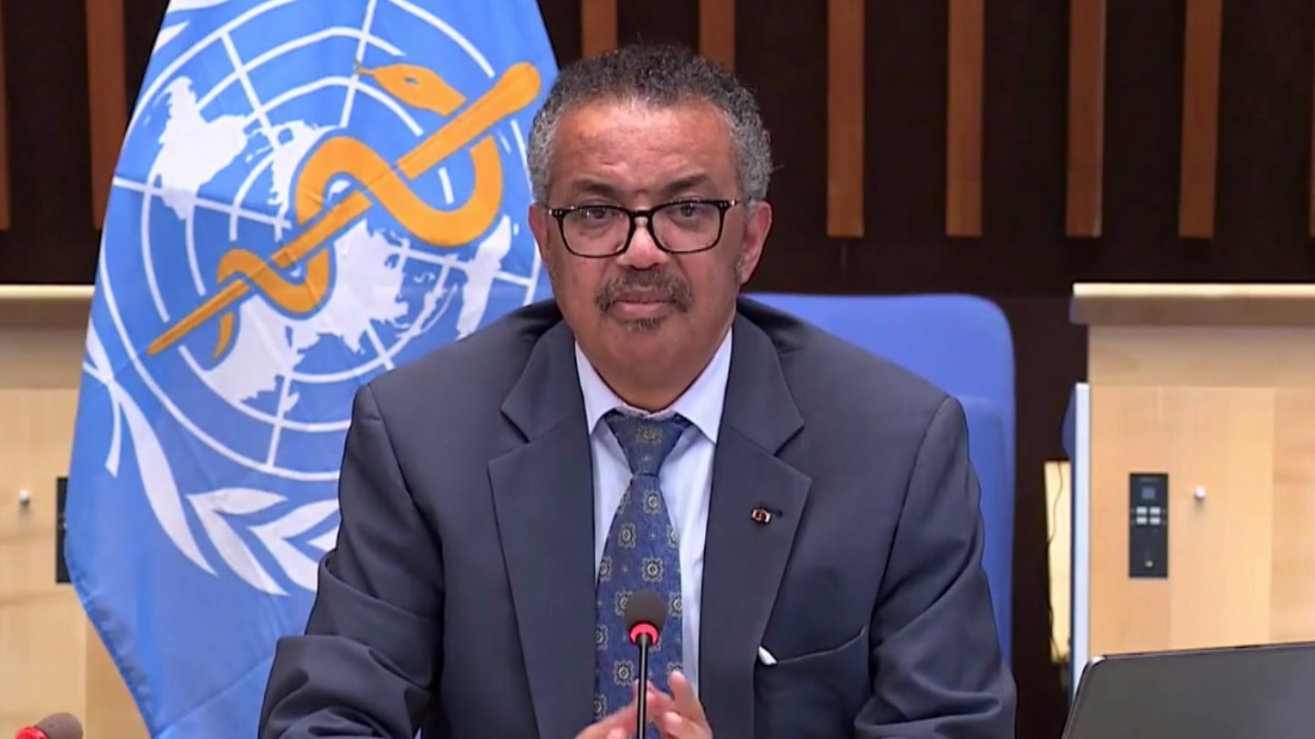 Dr Tedros Adhanom Ghebreyesus again highlighted New Zealand's response but urged countries to invest in public health.