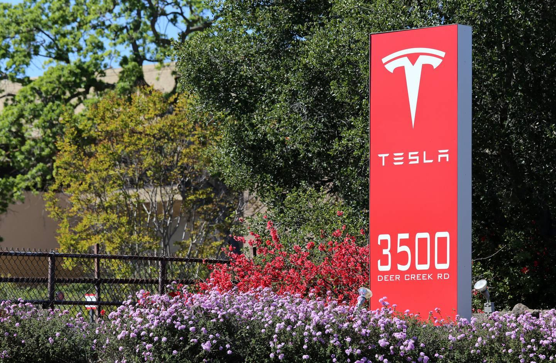 The Tesla Motors World Headquarters in Palo Alto.