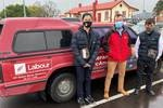 Wellington dad buys MP's famous red ute