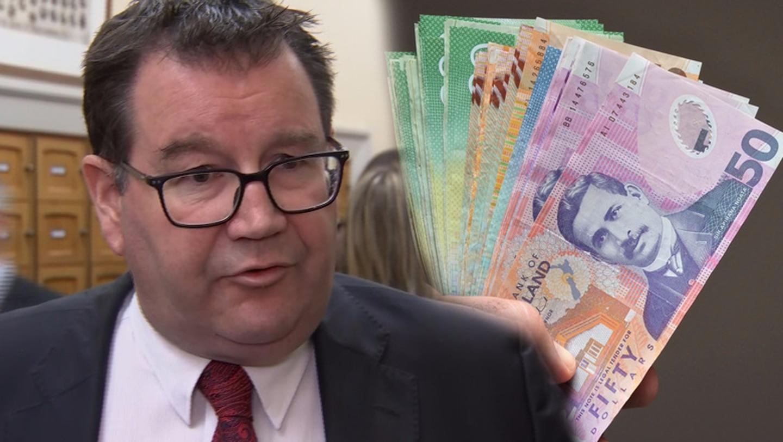 Finance Minister Grant Robertson